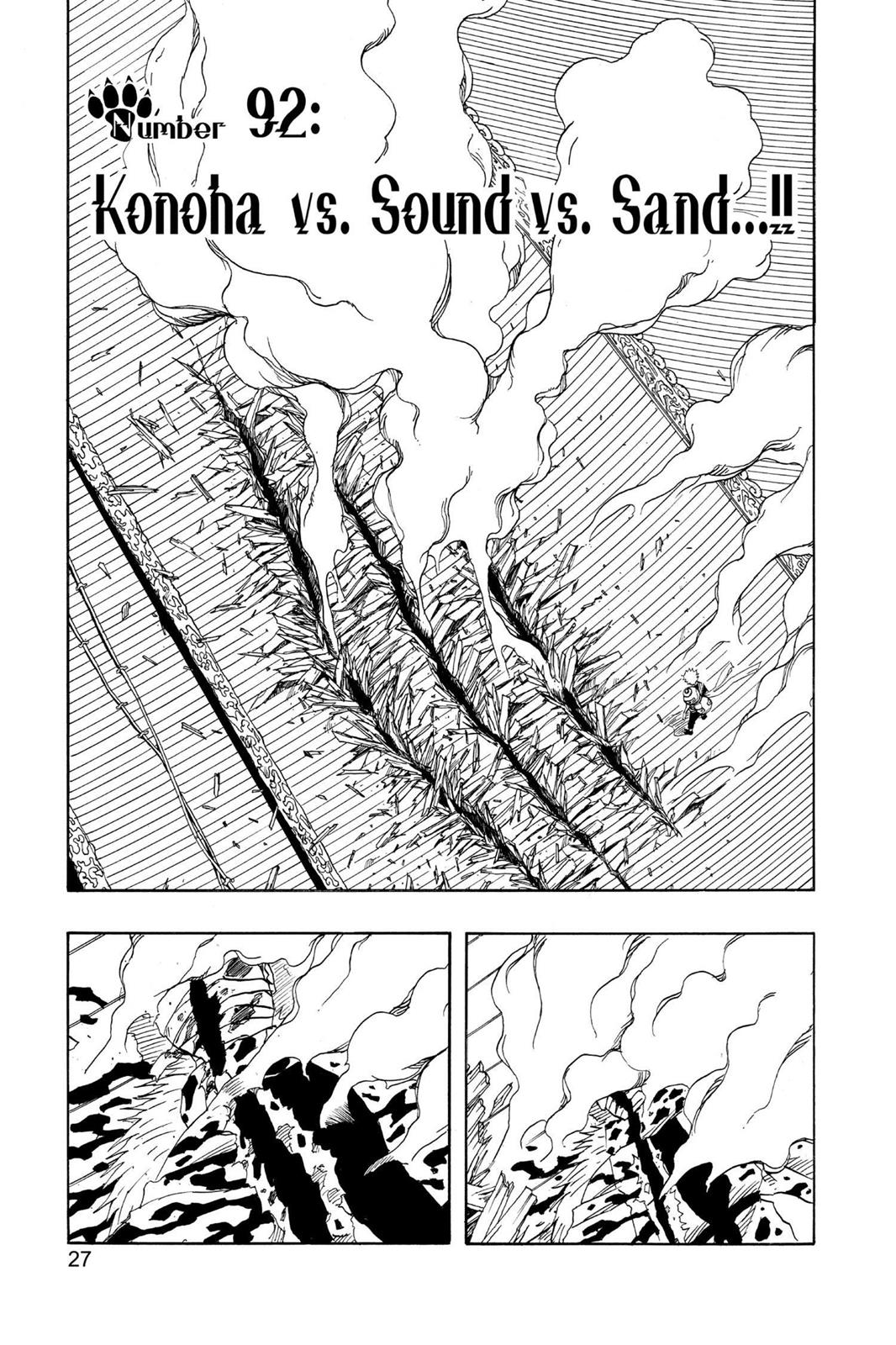 Naruto, Chapter 92 image 001
