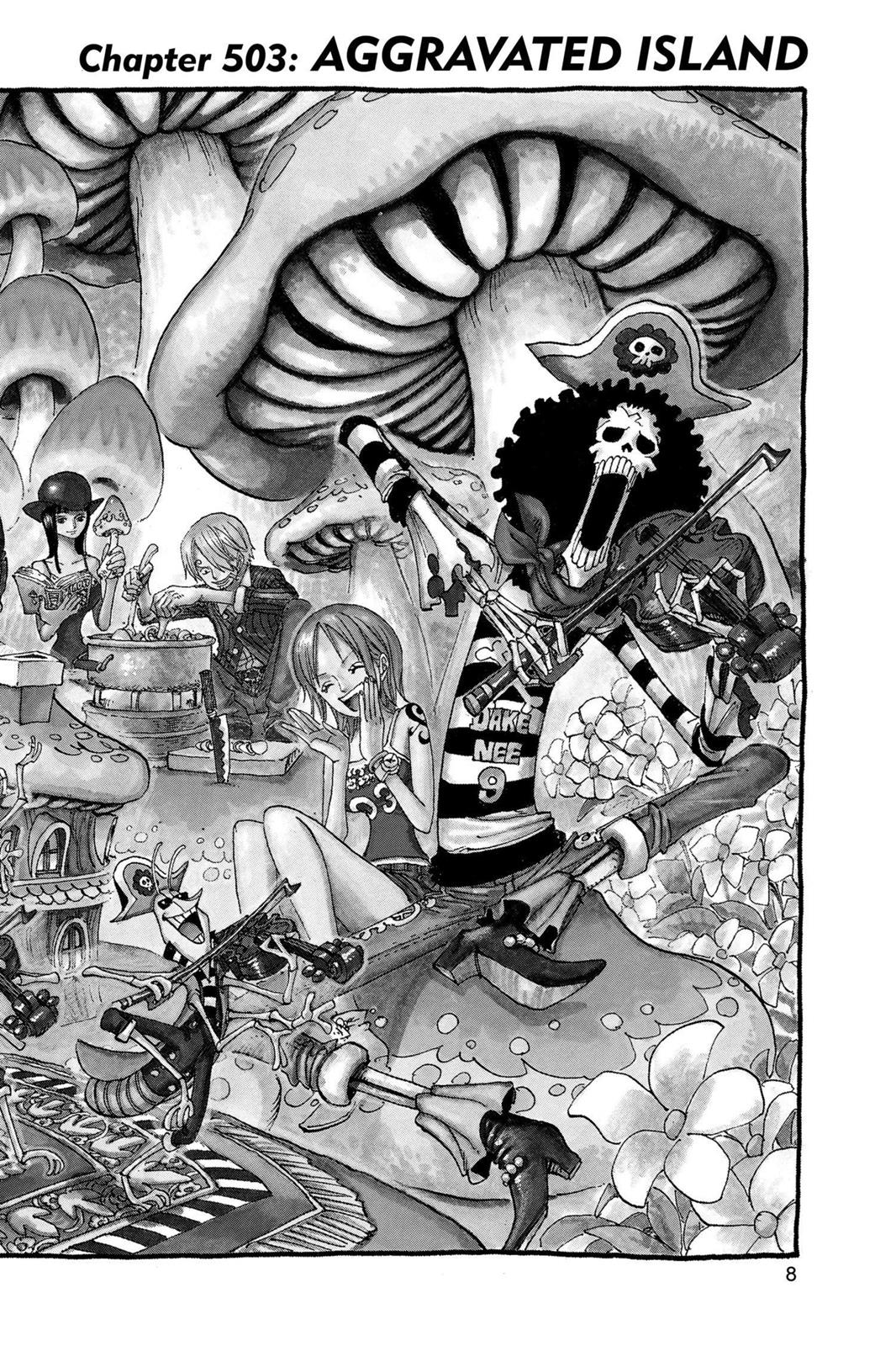 One Piece, Chapter 503 image 009