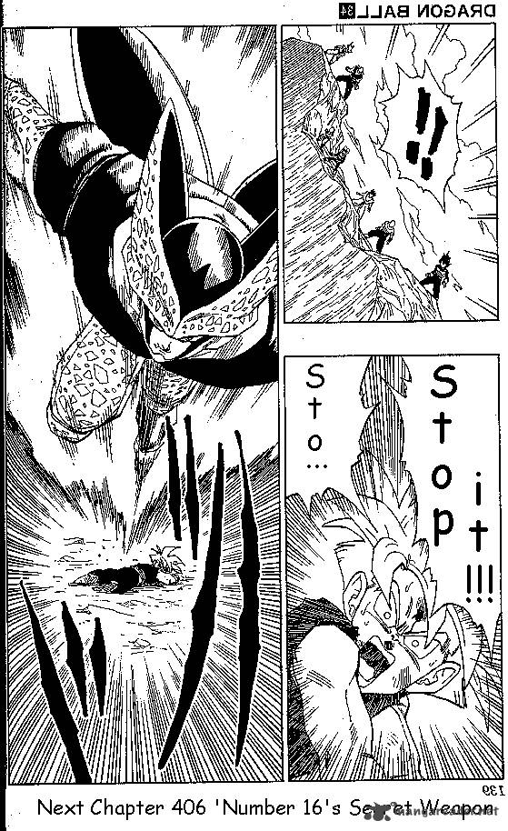 Dragon Ball, Chapter 406 image 015
