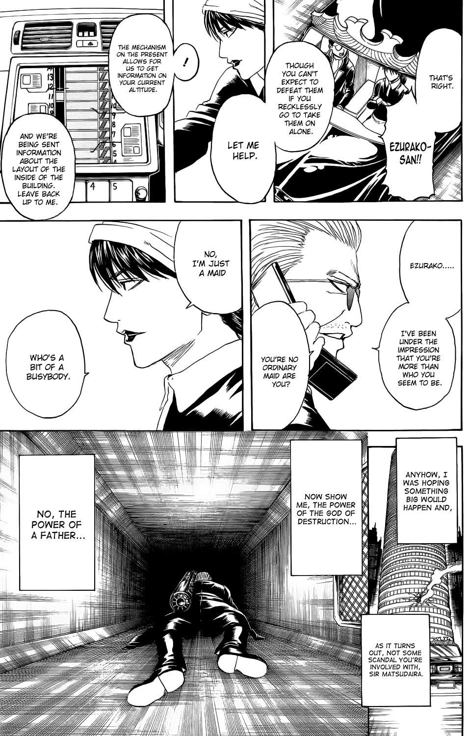 Gintama Chapter, 330 image 005