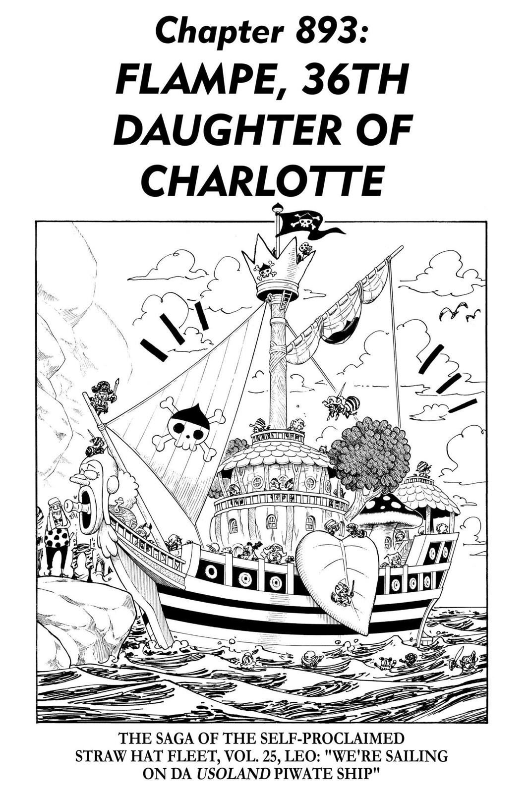 One Piece, Chapter 893 image 001