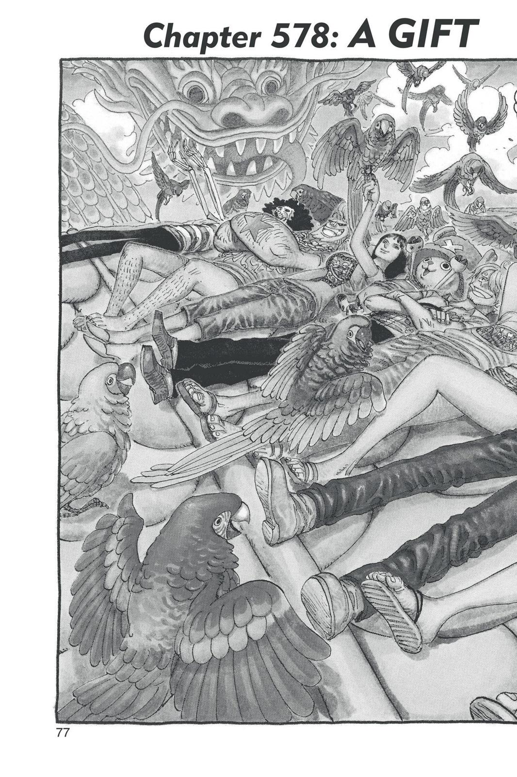 One Piece, Chapter 578 image 002