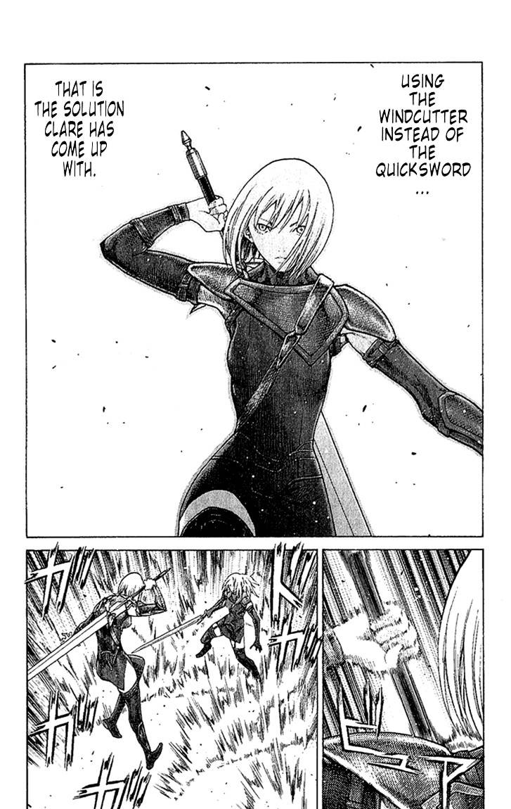 Claymore, Chapter 67 image 018