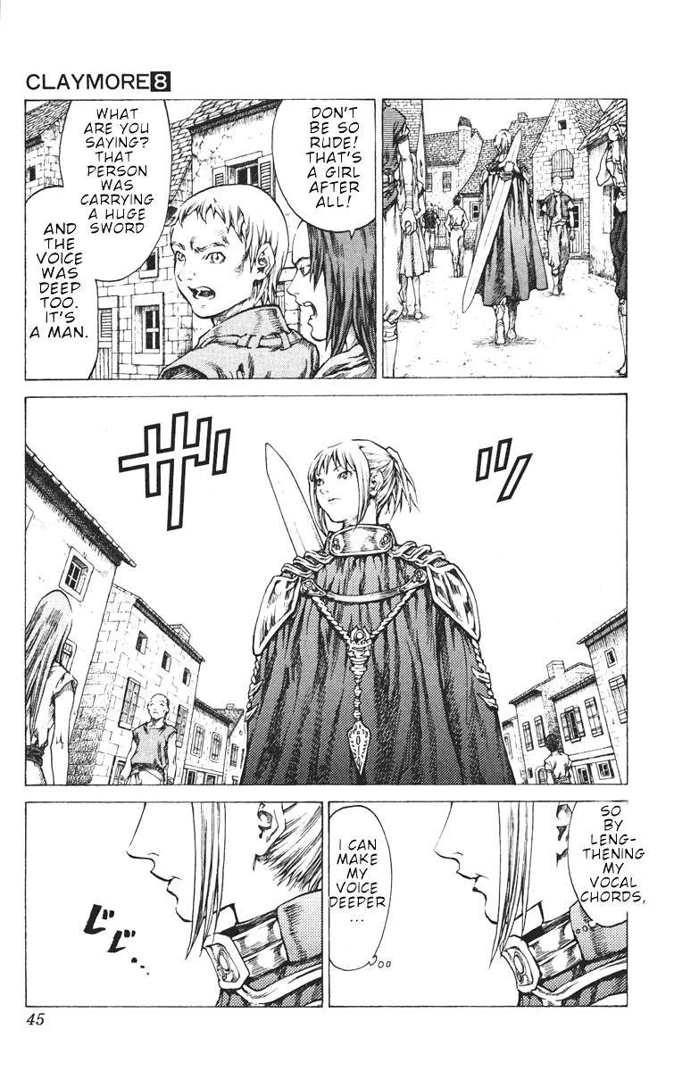 Claymore, Chapter 41 image 008