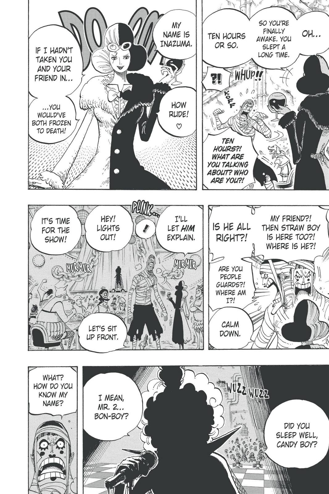 One Piece, Chapter 537 image 009