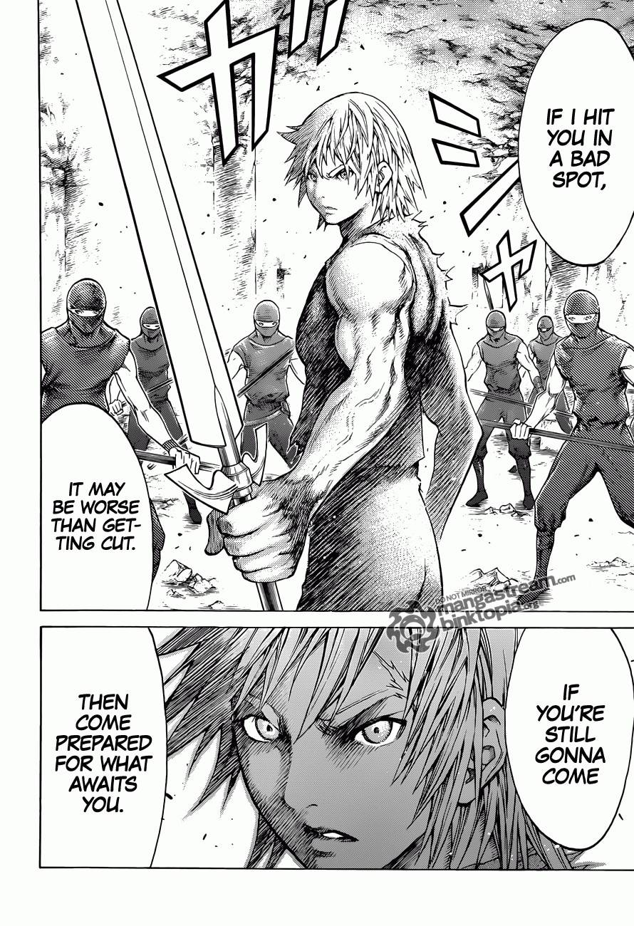 Claymore, Chapter 115 image 025