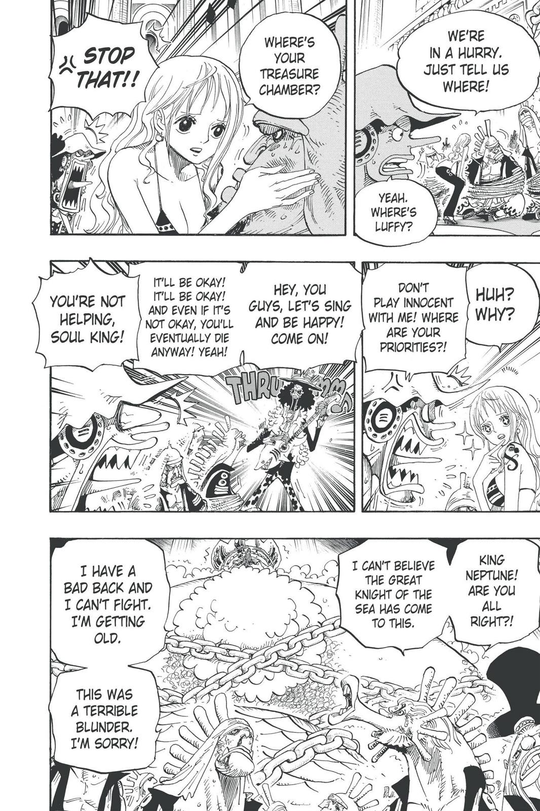 One Piece, Chapter 614 image 004