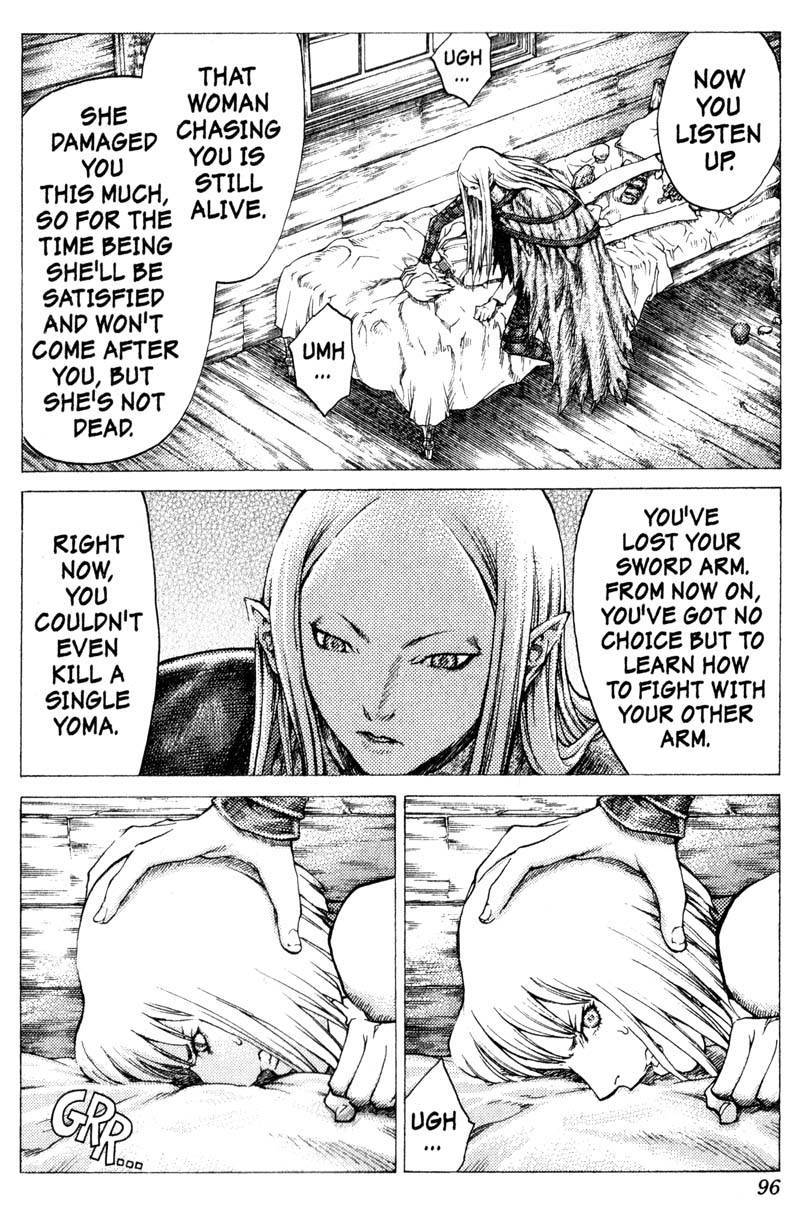 Claymore, Chapter 37 image 007