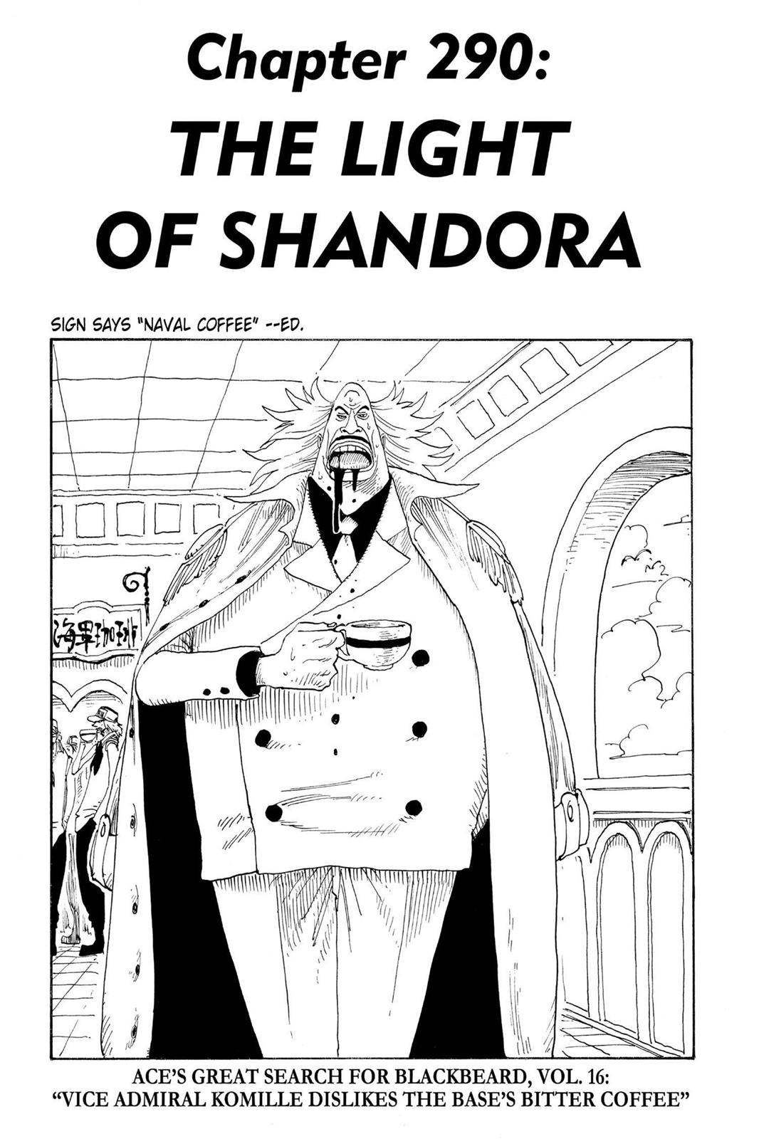 One Piece, Chapter 290 image 001