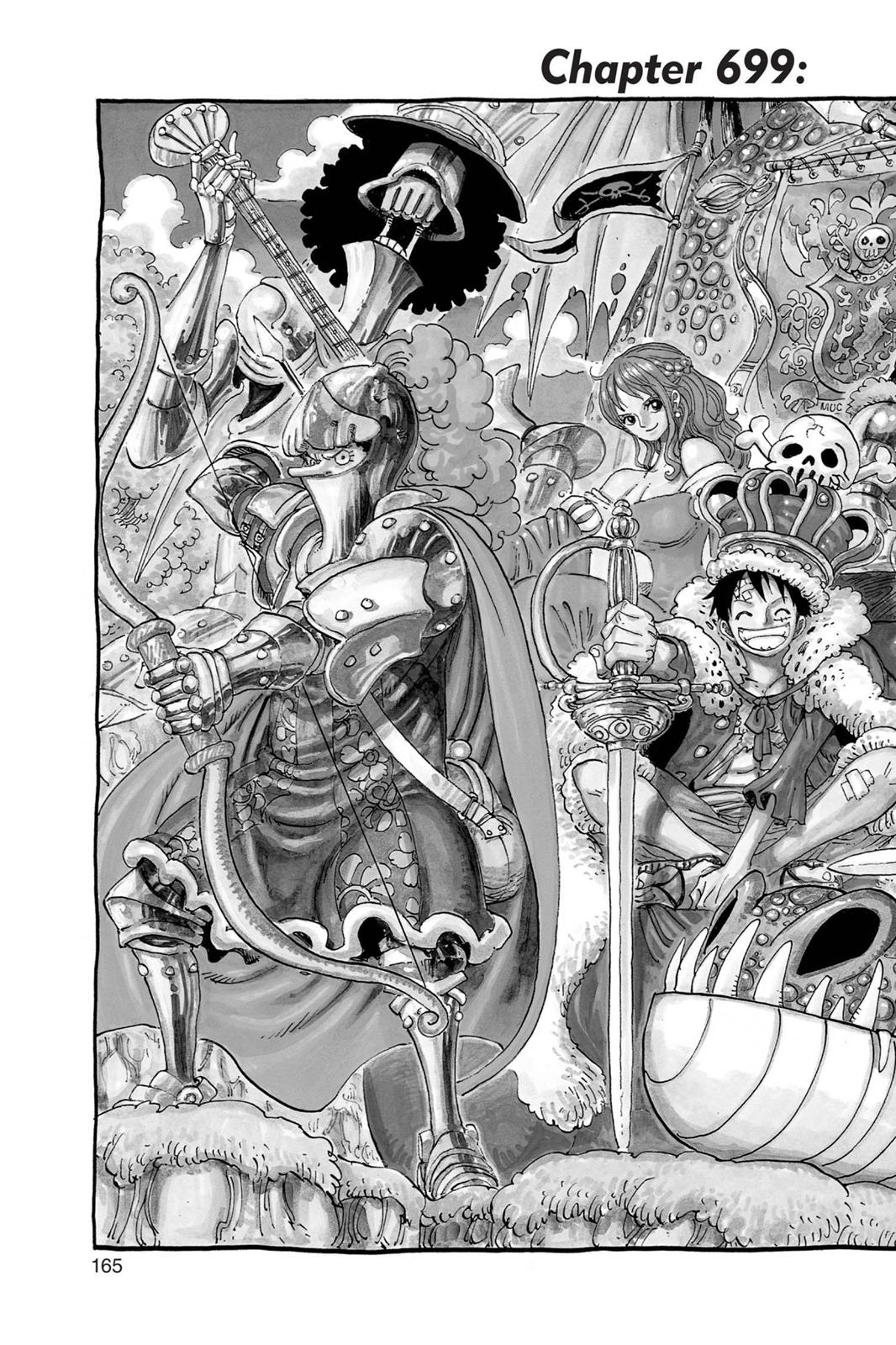 One Piece, Chapter 699 image 002