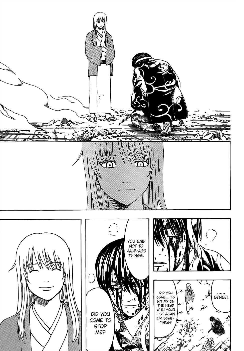 Gintama Chapter, 518 image 017