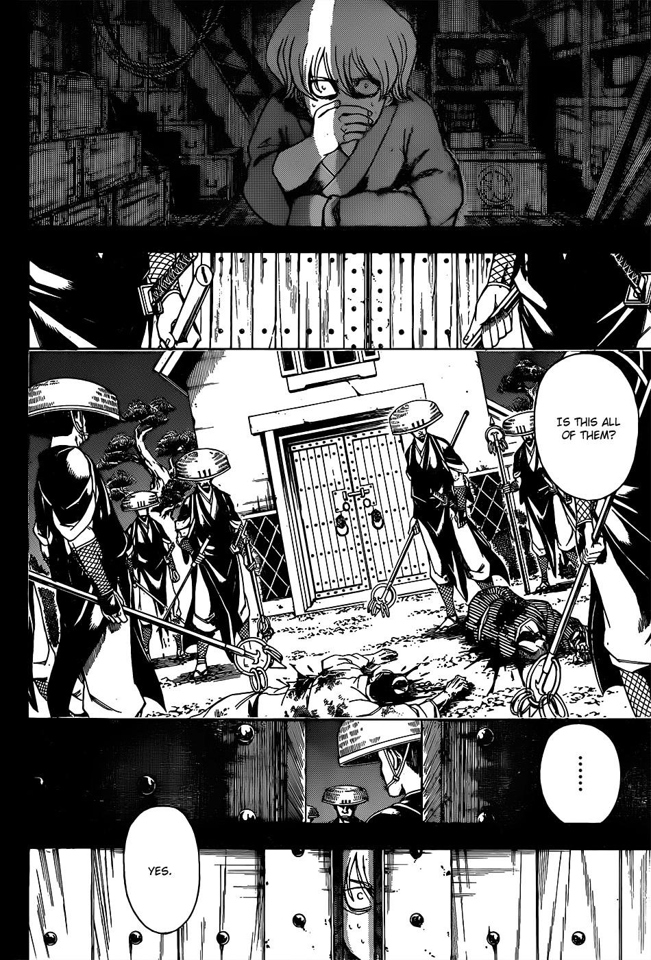 Gintama Chapter, 590 image 002