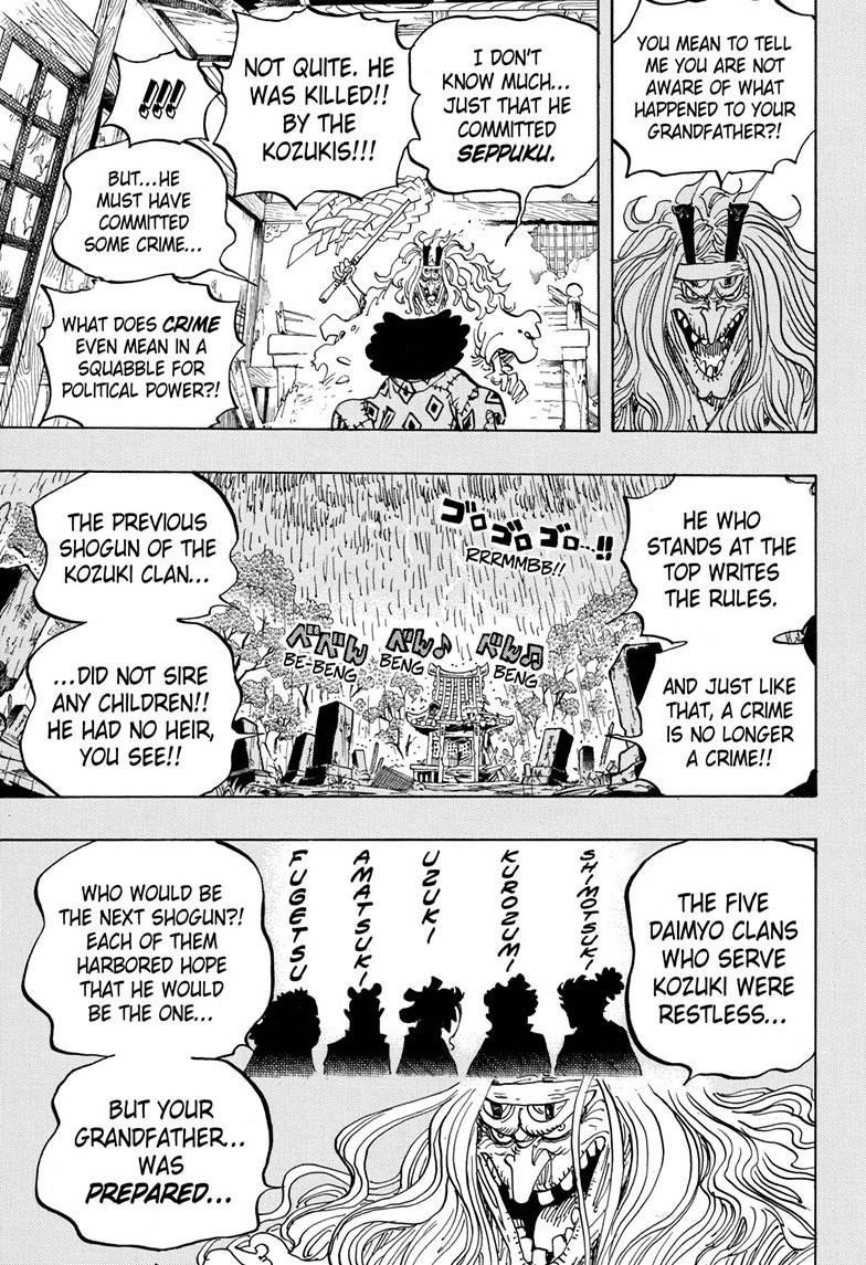 One Piece, Chapter 965 image 009