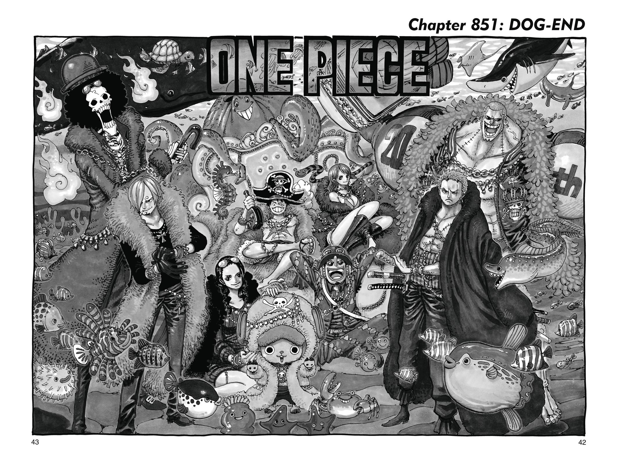 One Piece, Chapter 851 image 001