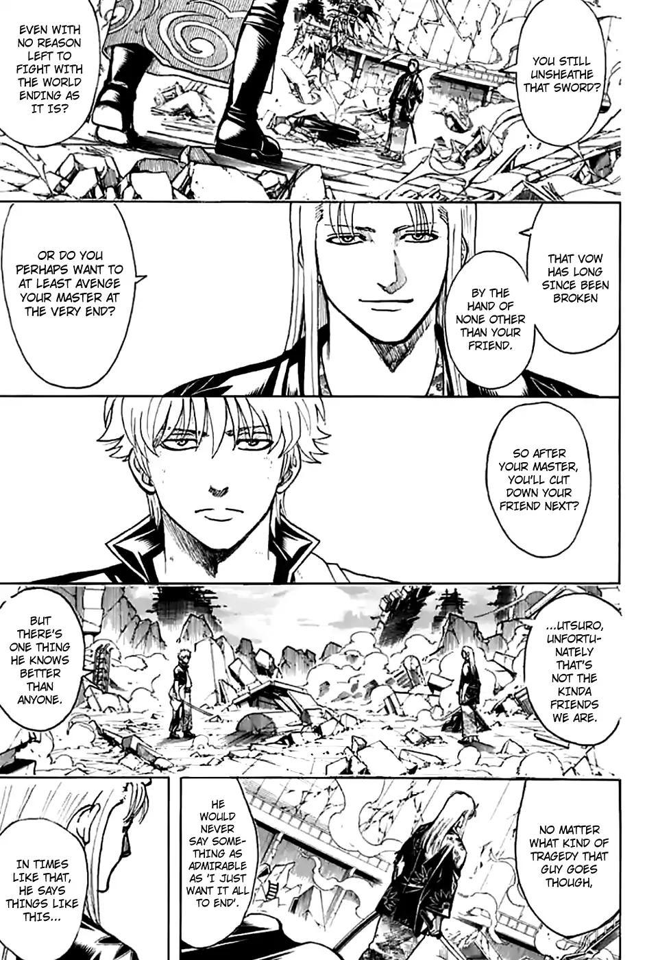 Gintama Chapter, 703 image 006