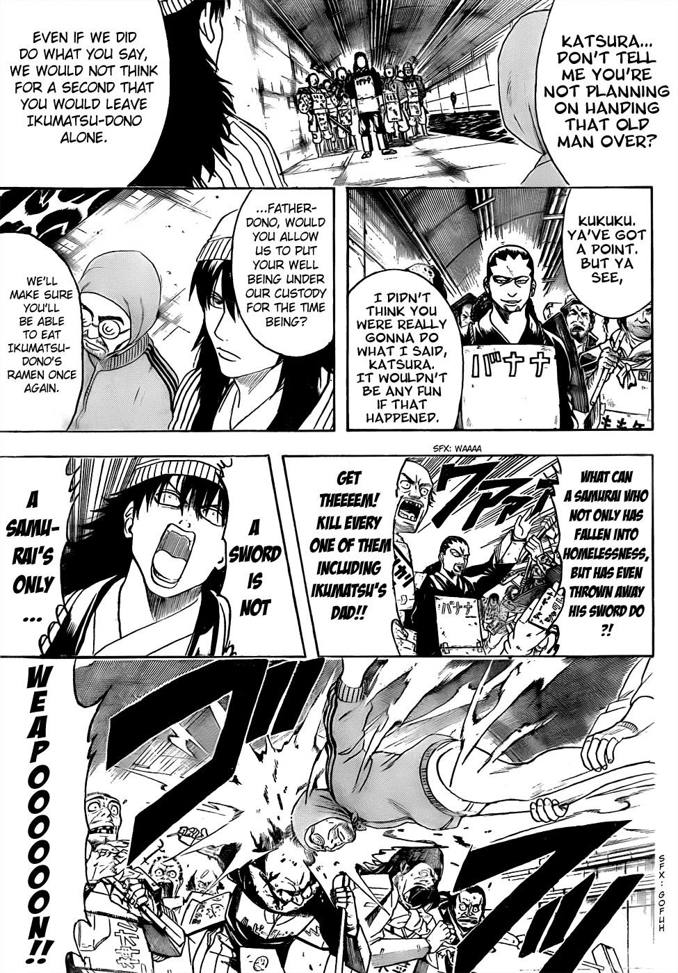 Gintama Chapter, 433 image 005