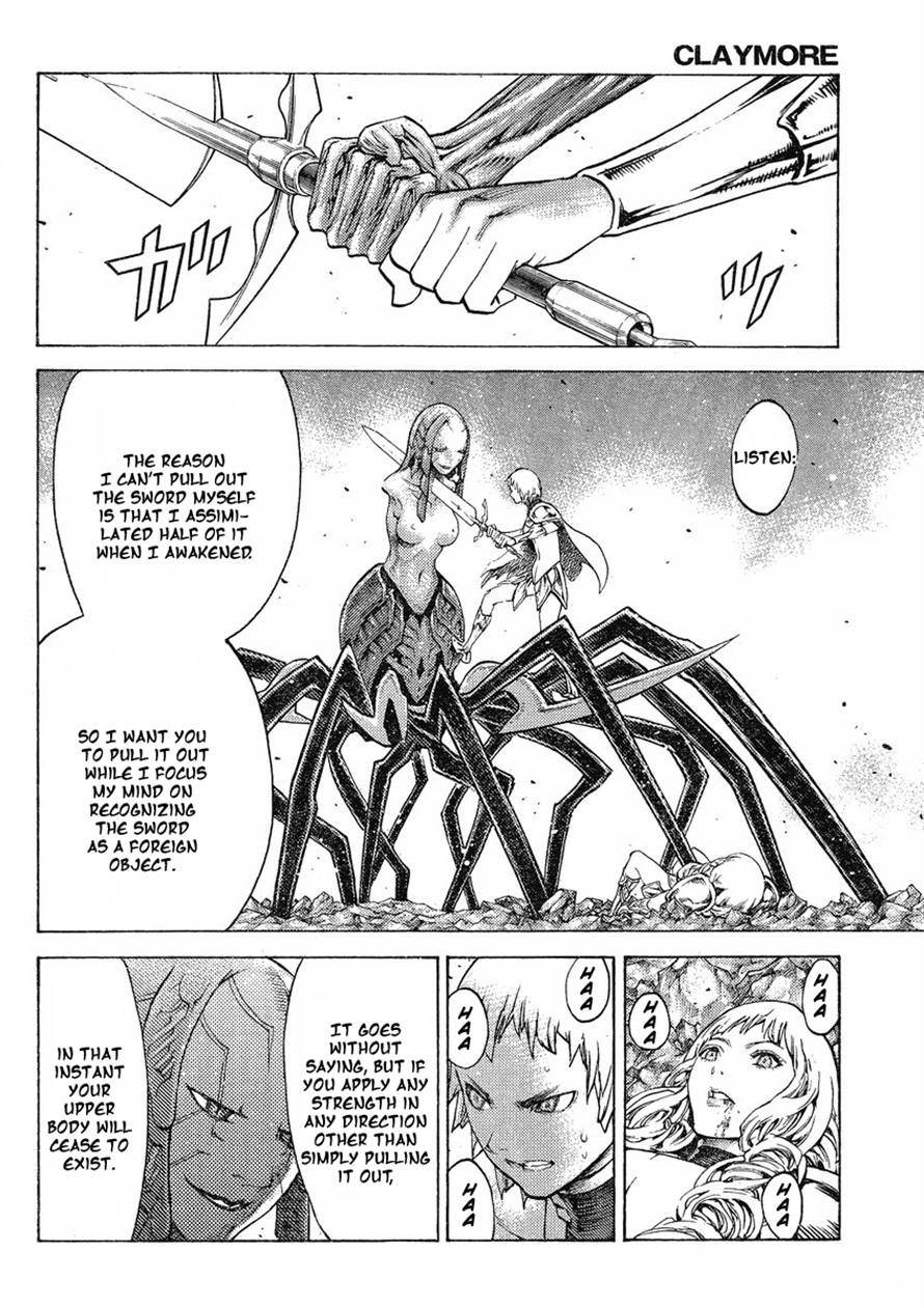 Claymore, Chapter 123 image 018