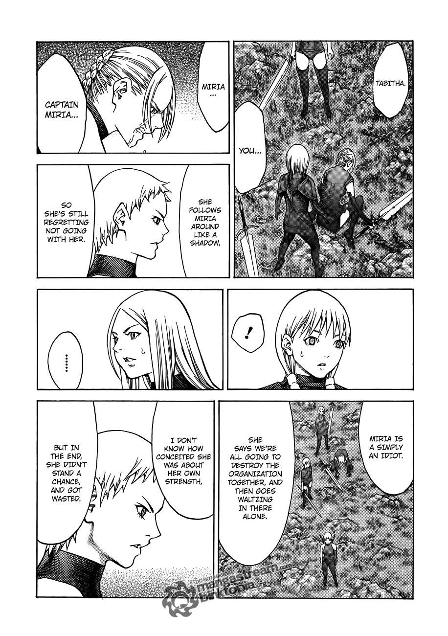 Claymore, Chapter 109 image 019
