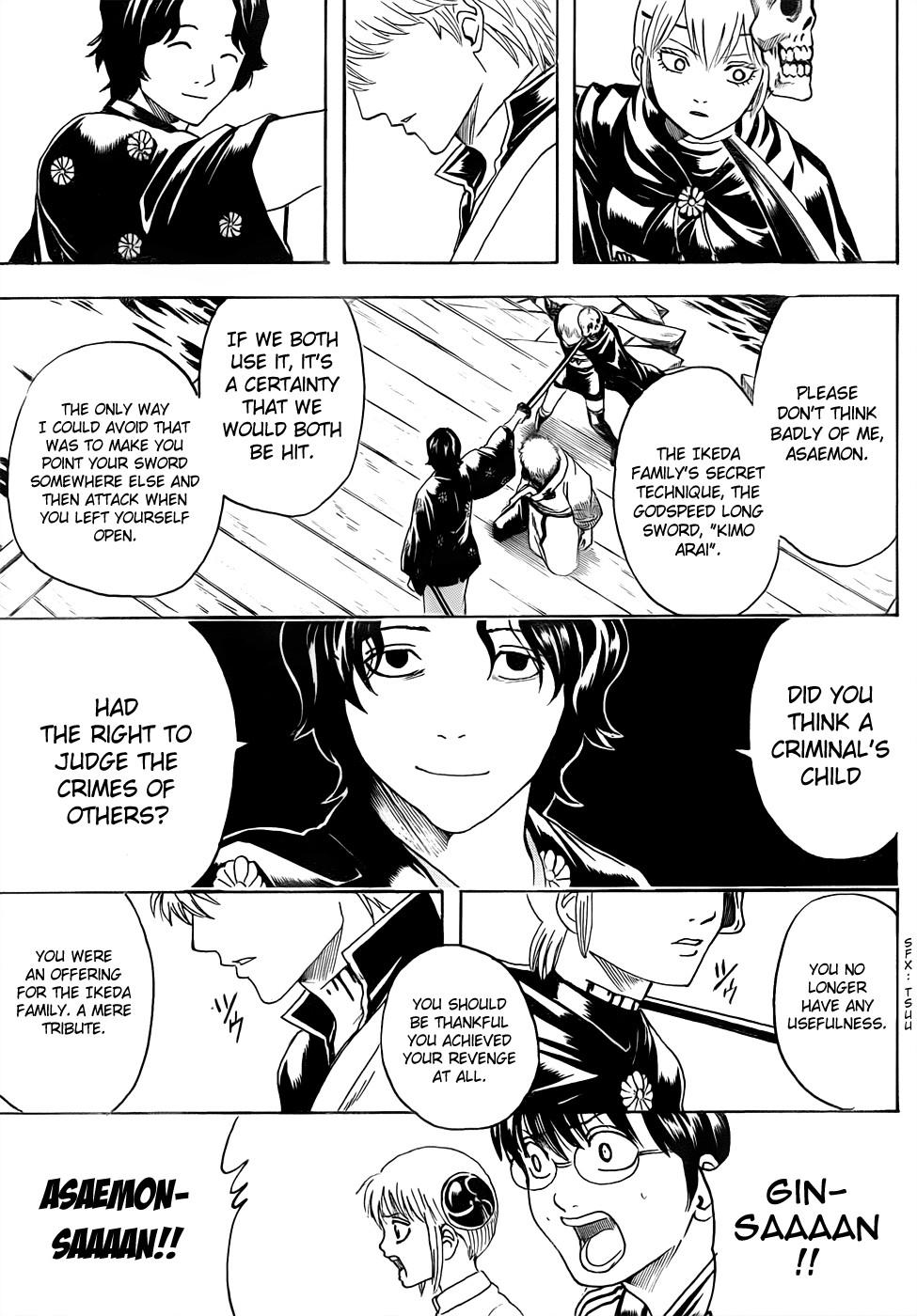 Gintama Chapter, 467 image 015