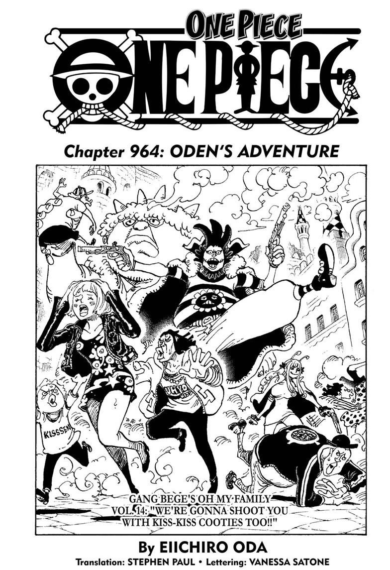 One Piece, Chapter 964 image 001