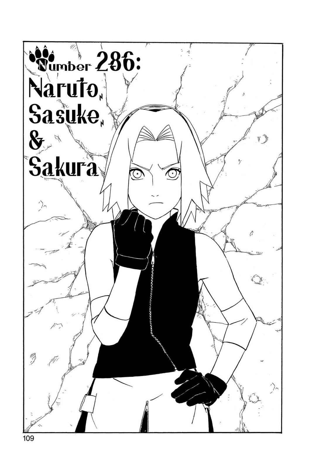 Naruto, Chapter 286 image 001