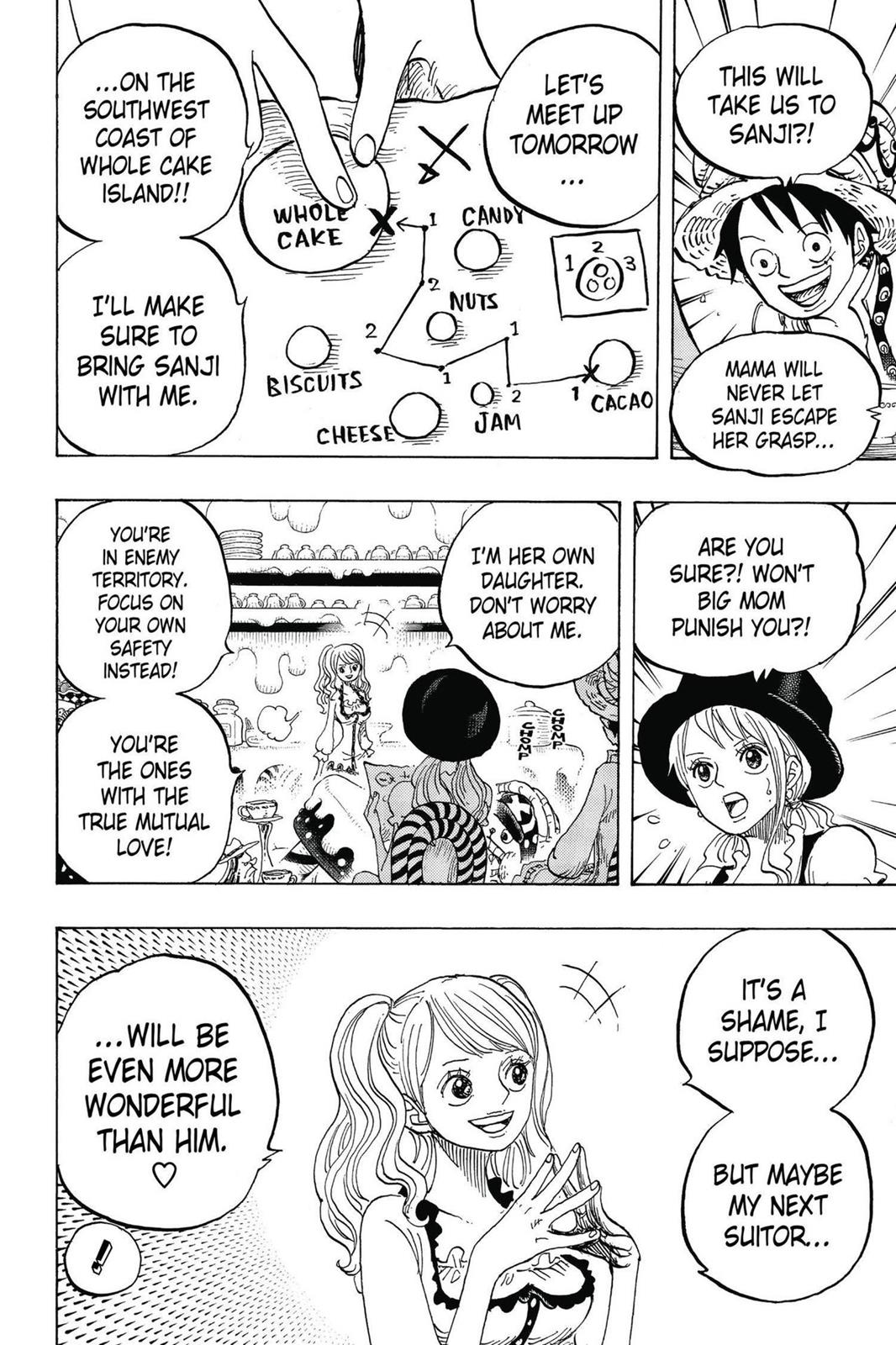 One Piece, Chapter 828 image 017