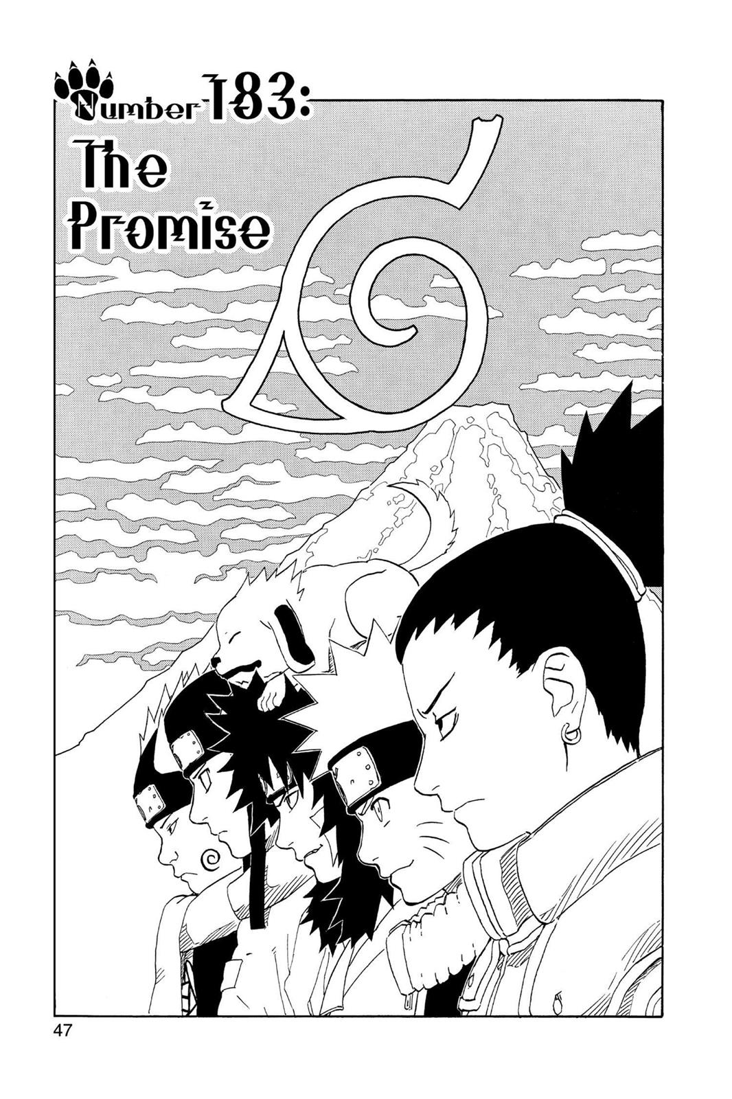 Naruto, Chapter 183 image 001