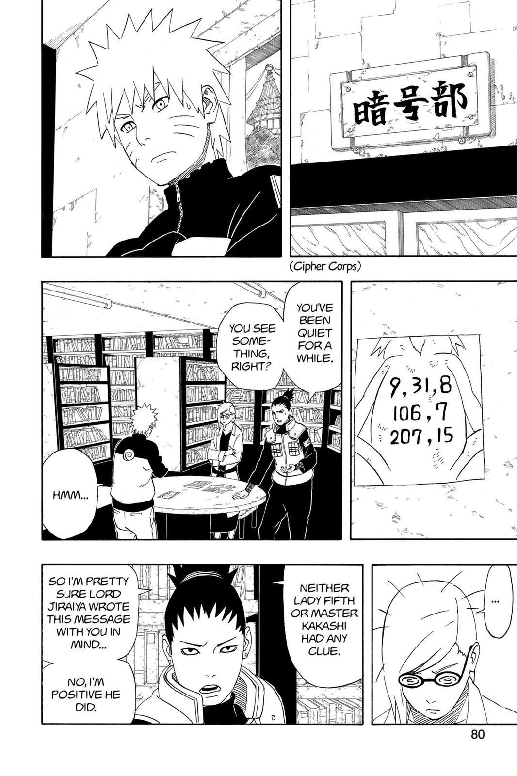 Naruto, Chapter 407 image 002