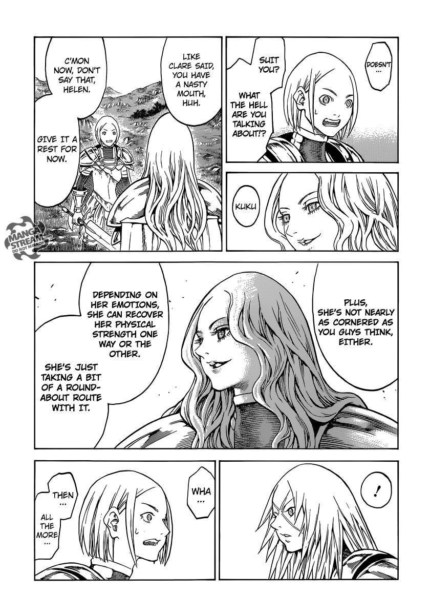 Claymore, Chapter 152 image 005