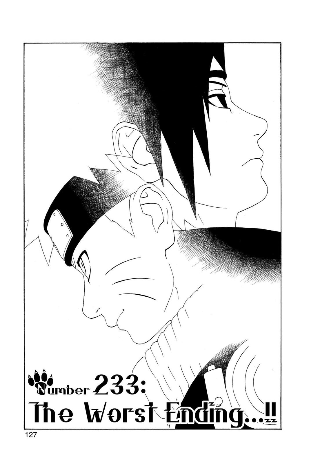 Naruto, Chapter 233 image 001