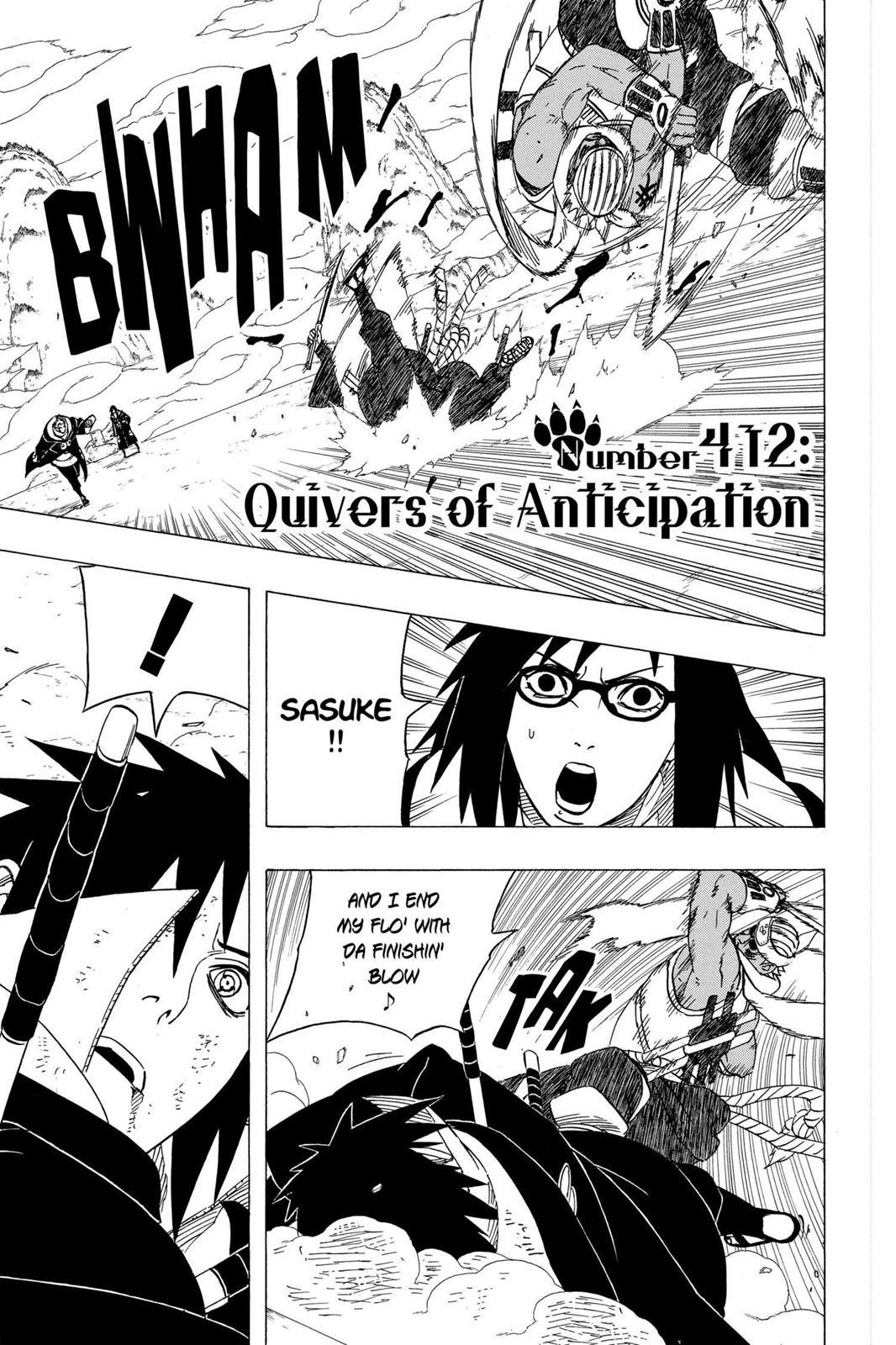 Naruto, Chapter 412 image 001