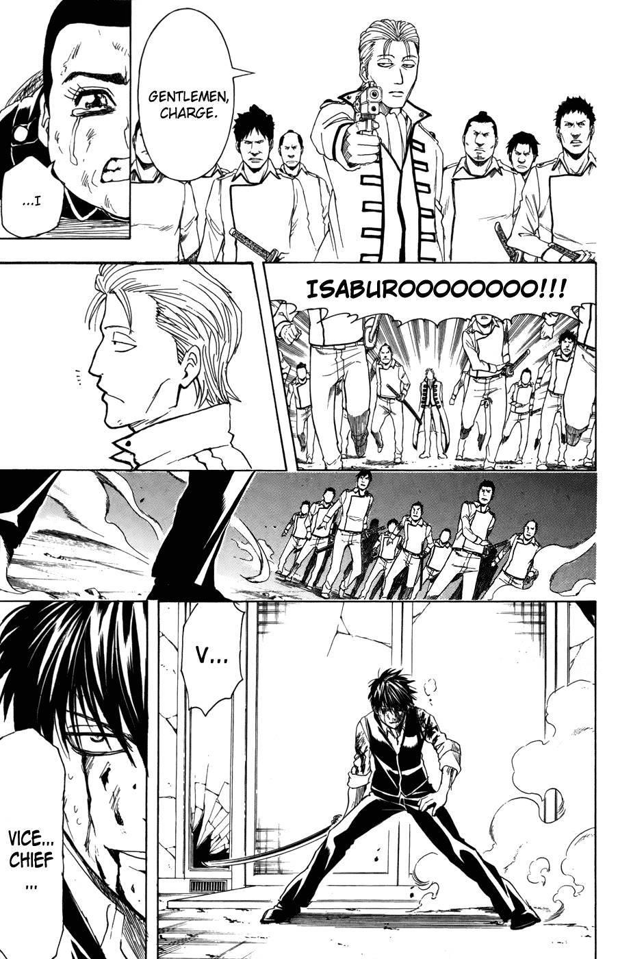 Gintama Chapter, 368 image 017