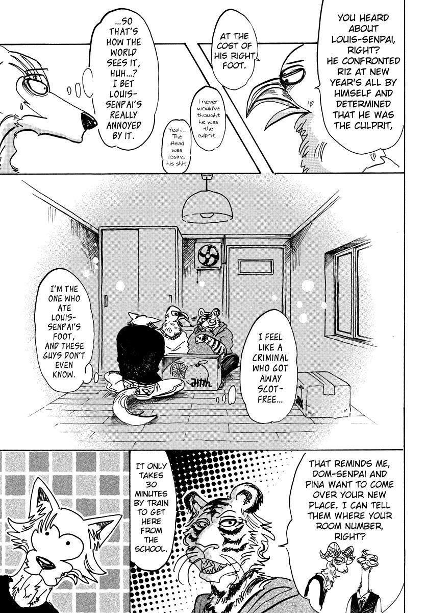 Beastars Manga, Chapter 101 image 009