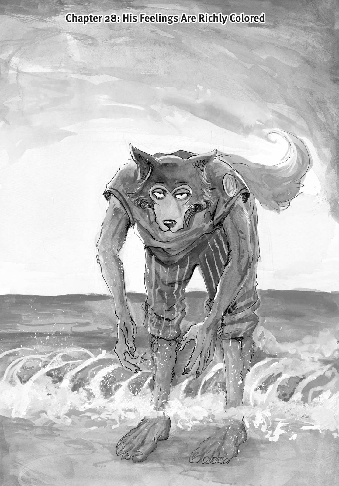 Beastars Manga, Chapter 28 image 001