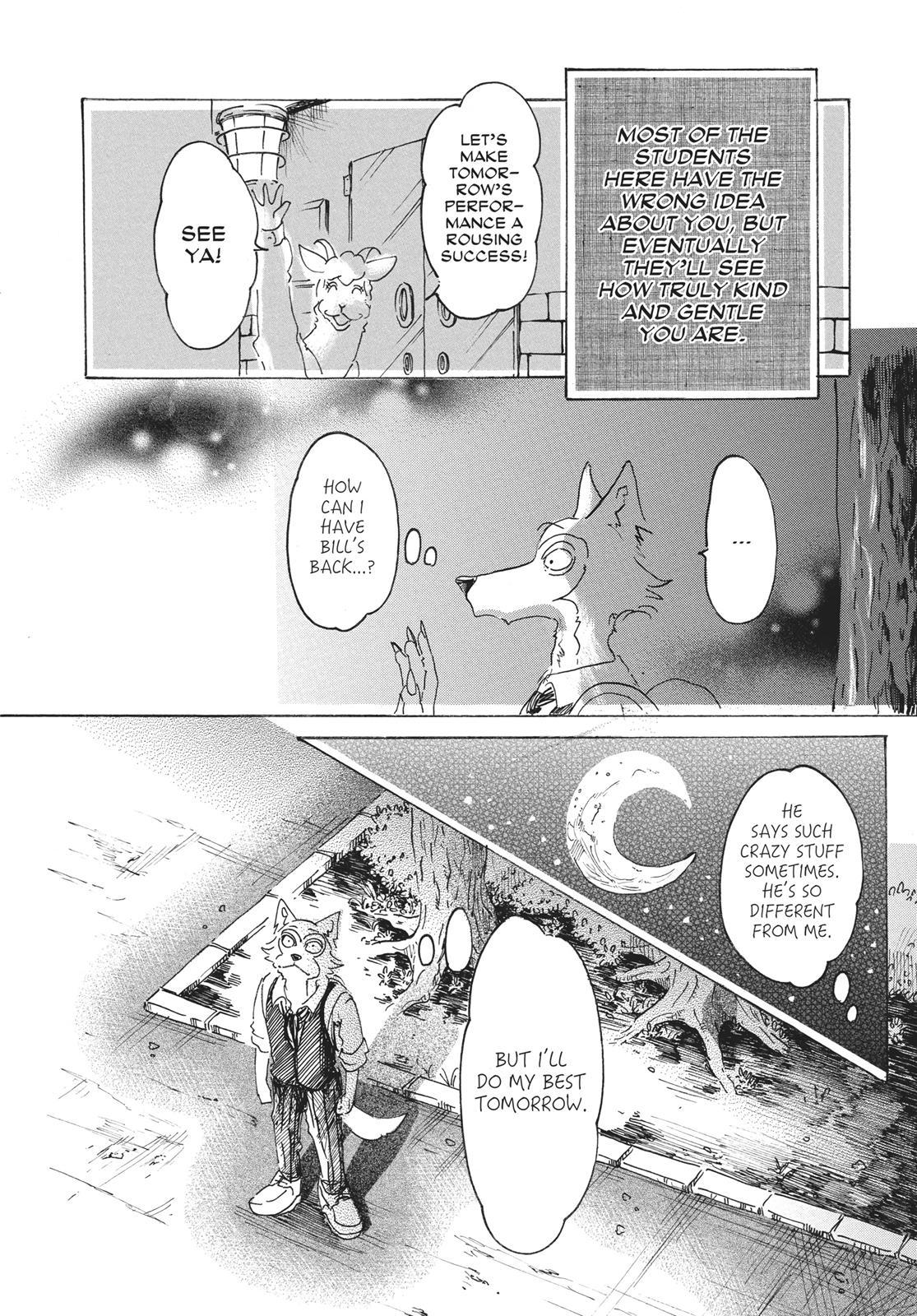 Beastars Manga, Chapter 13 image 020