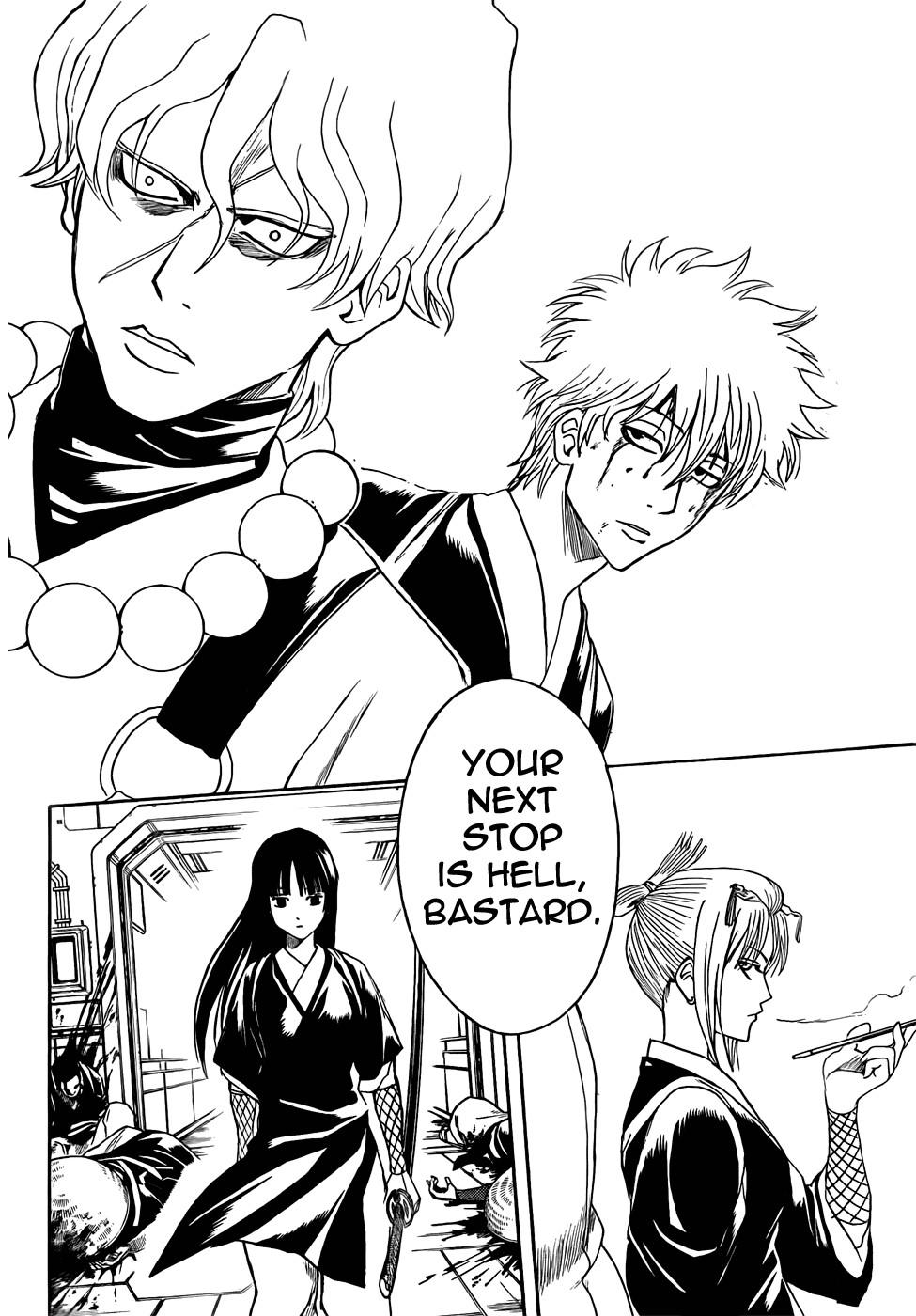Gintama Chapter, 395 image 016