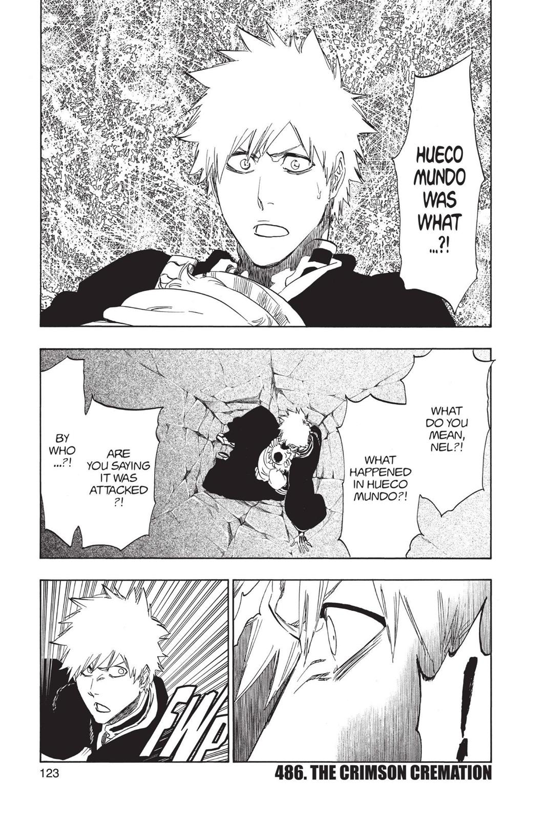 Bleach, Chapter 486 image 001