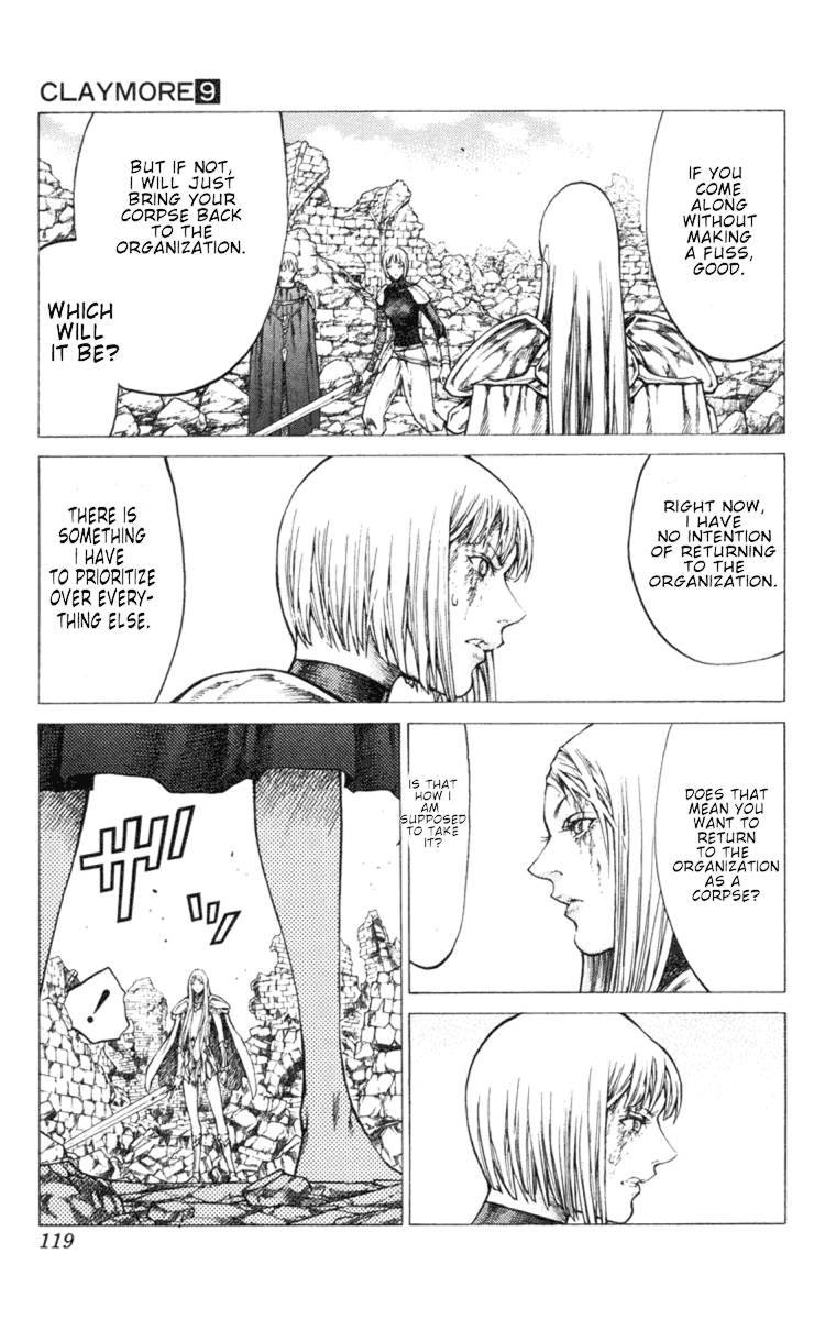 Claymore, Chapter 49 image 022