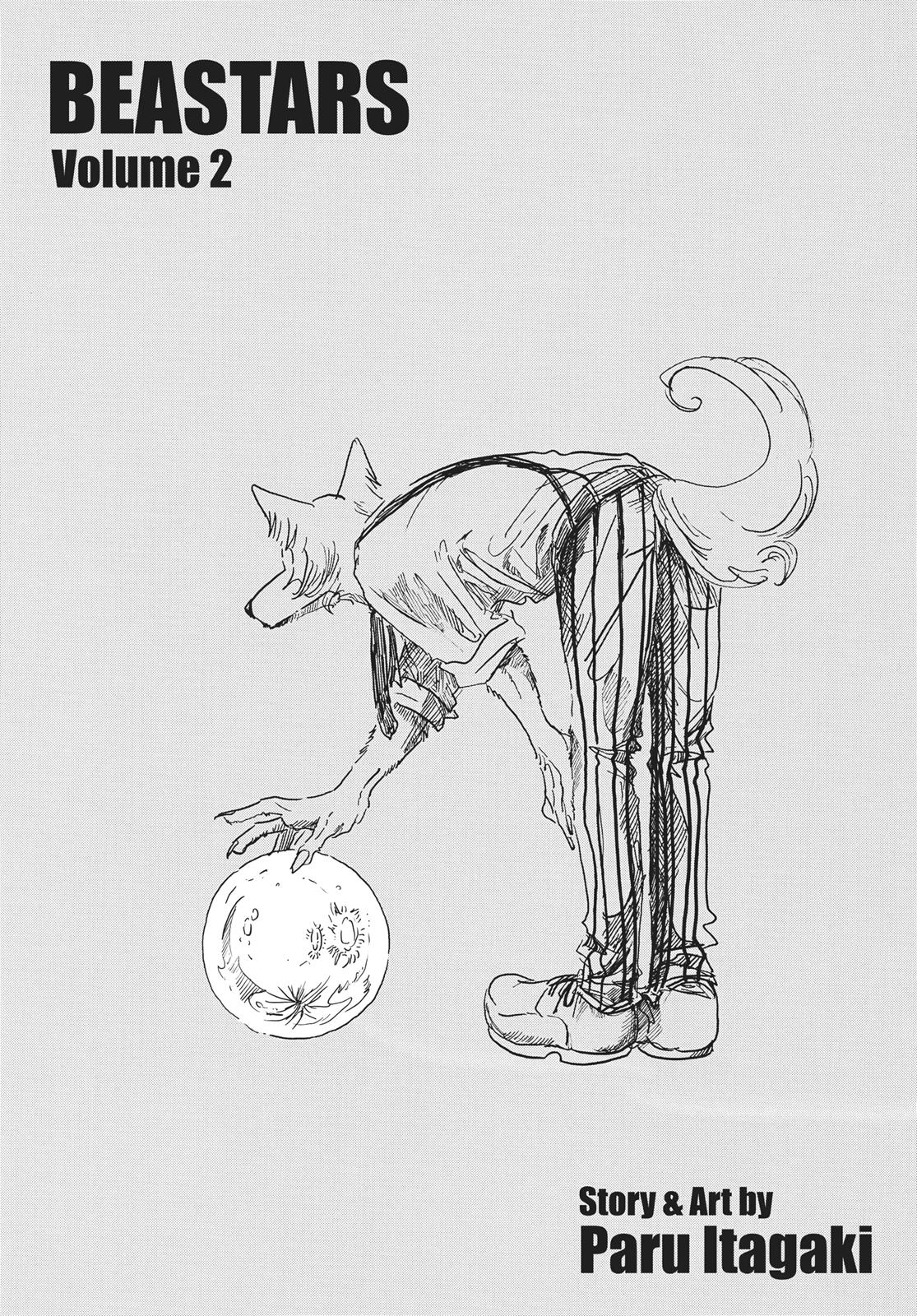 Beastars Manga, Chapter 8 image 002