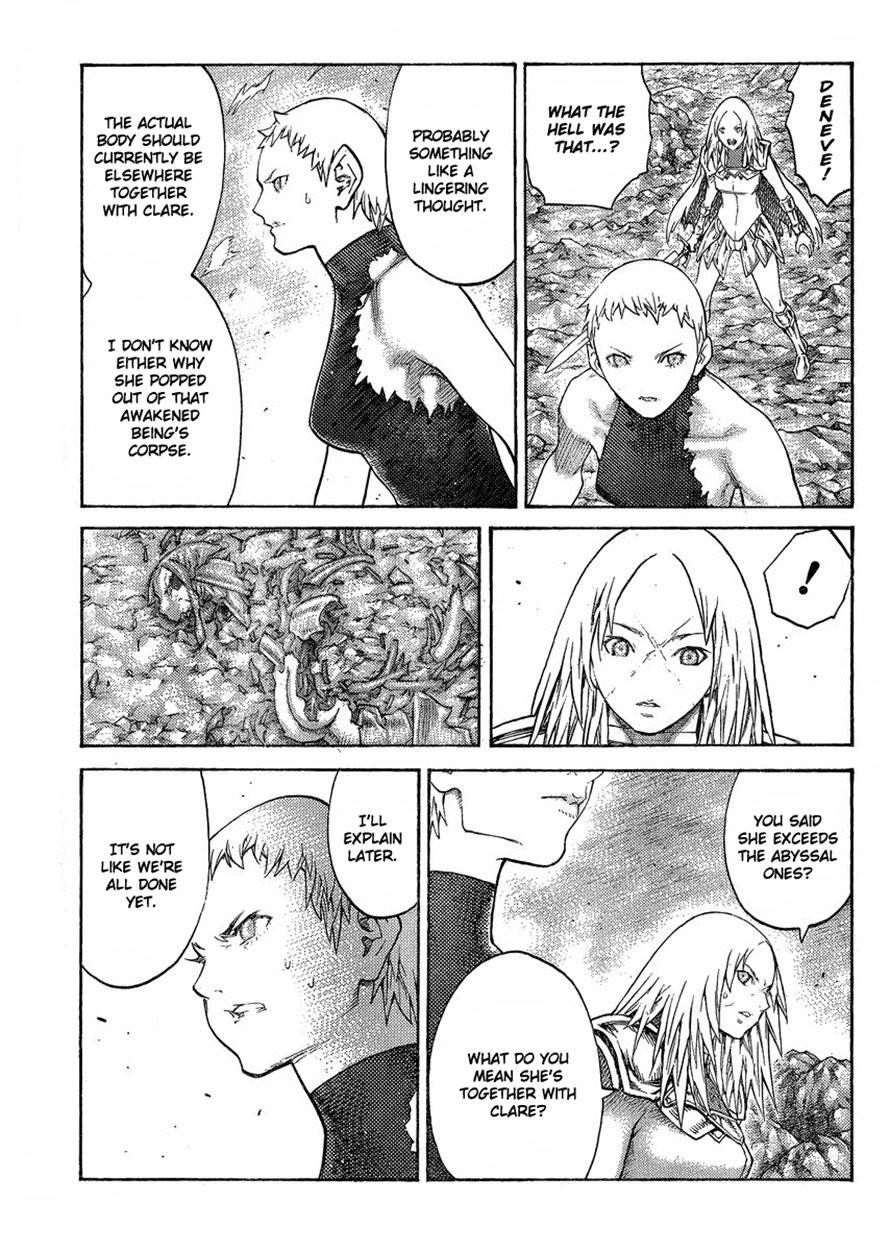 Claymore, Chapter 125 image 023