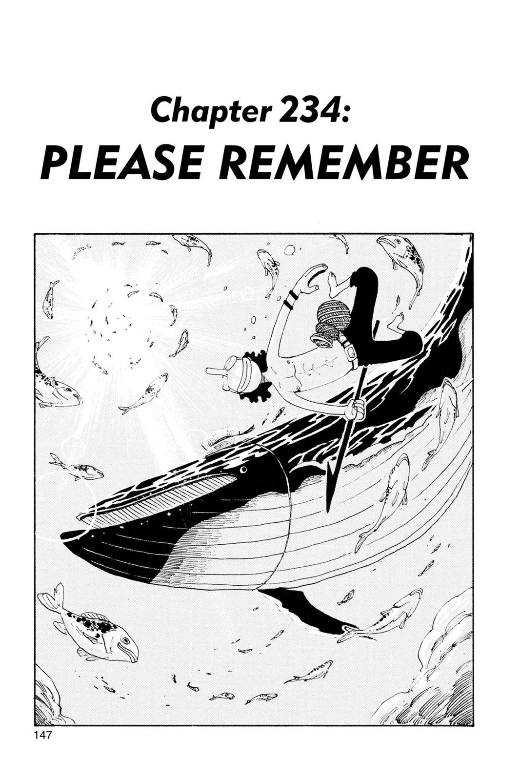 One Piece, Chapter 234 image 001