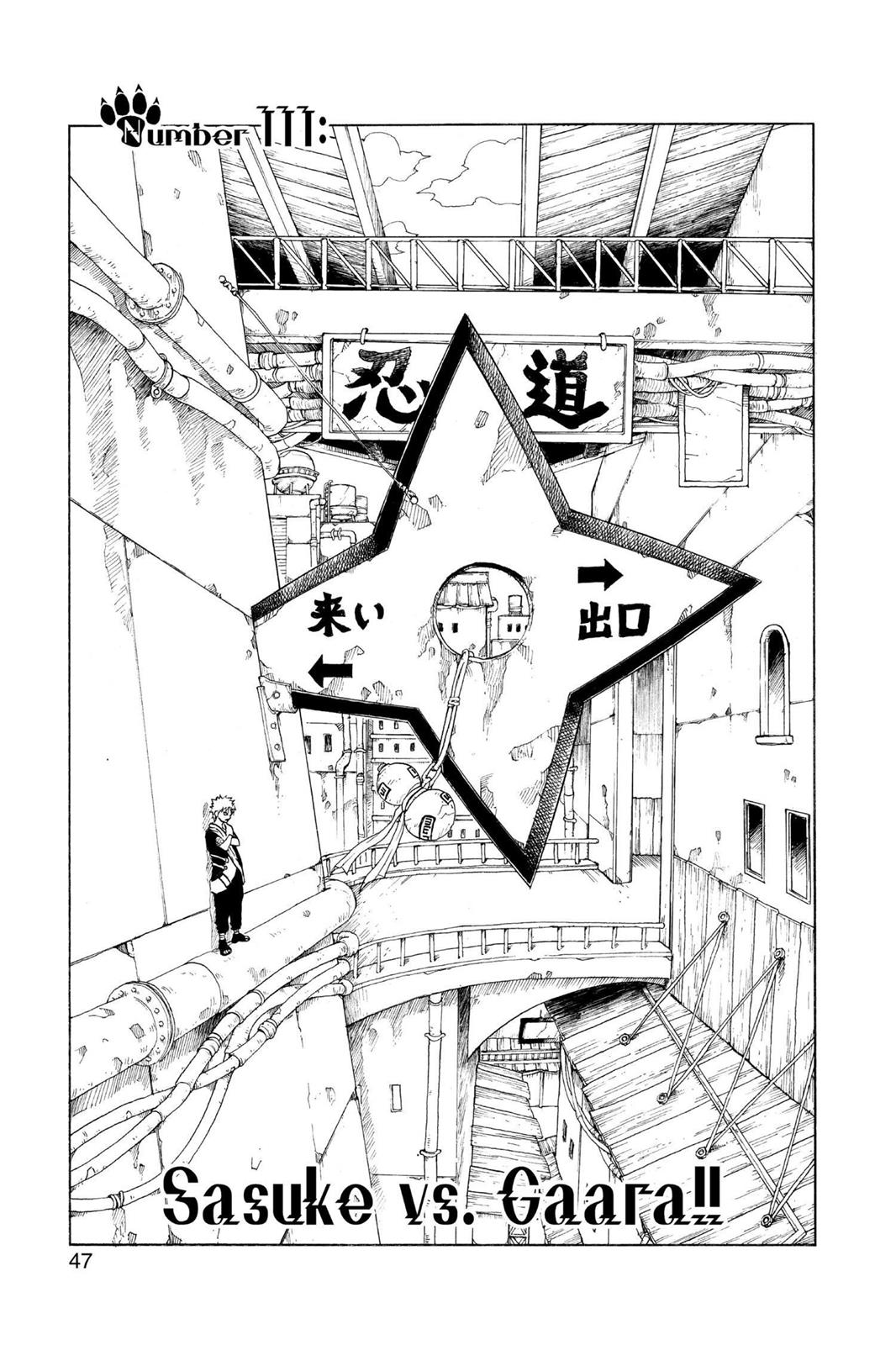 Naruto, Chapter 111 image 001