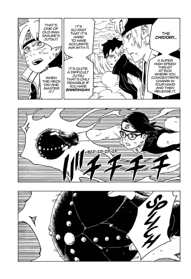 Boruto Manga, Chapter 43 image 003