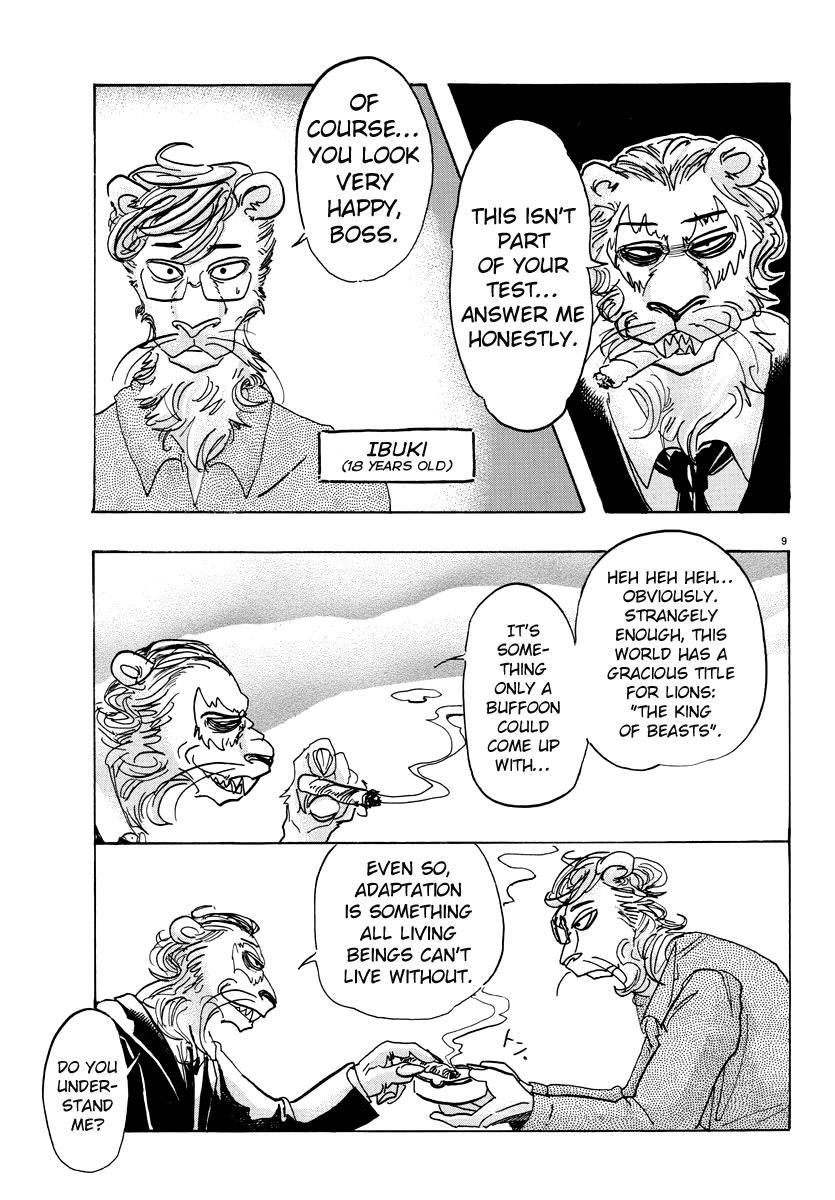 Beastars Manga, Chapter 92 image 010