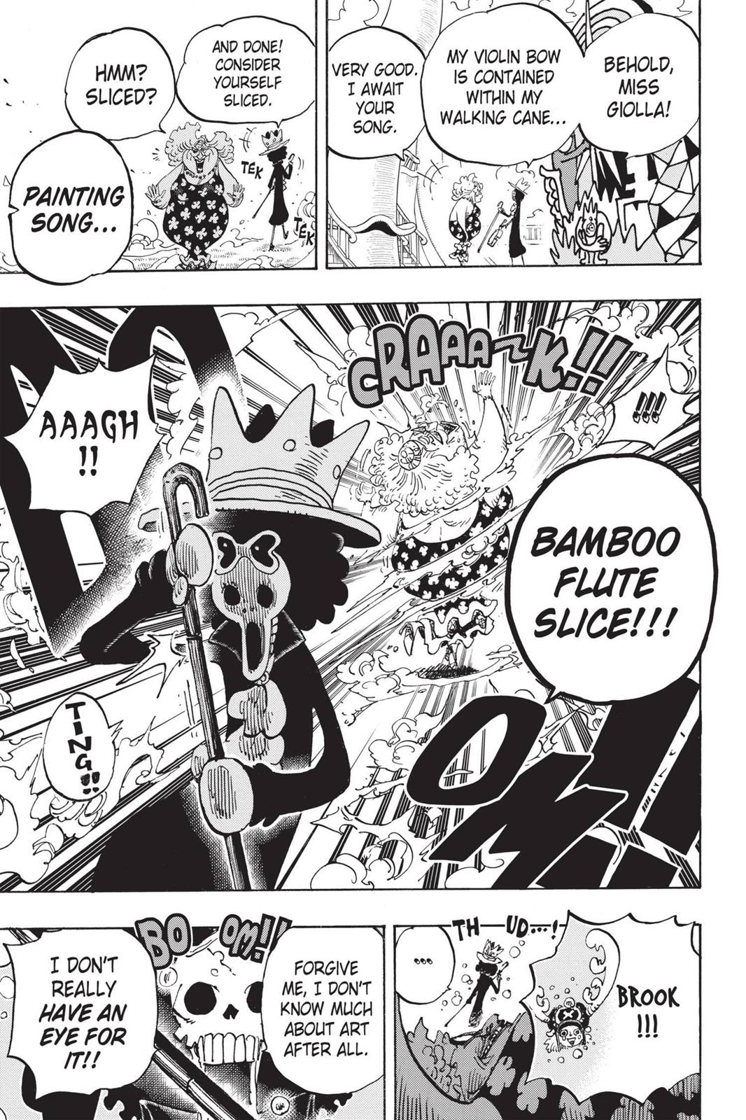 One Piece, Chapter 722 image 024