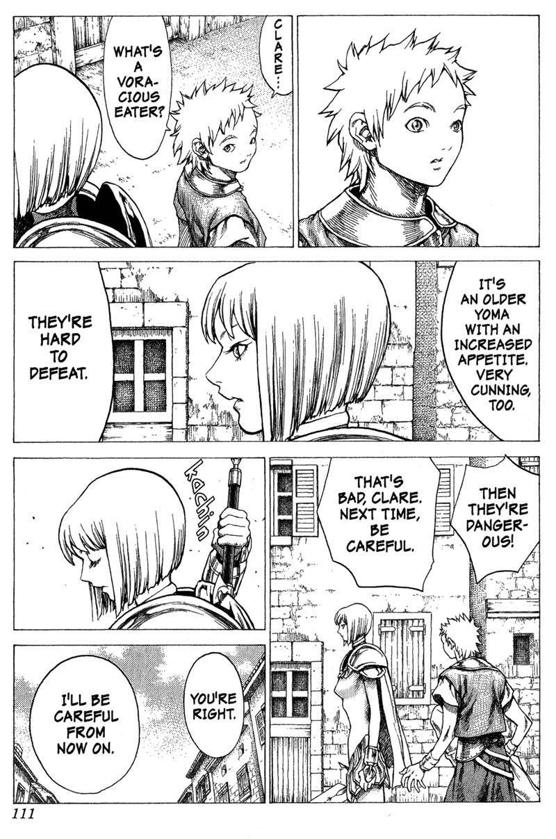 Claymore, Chapter 25 image 009