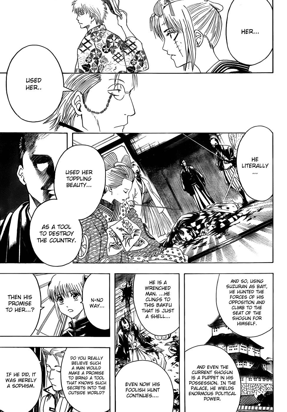 Gintama Chapter, 388 image 017