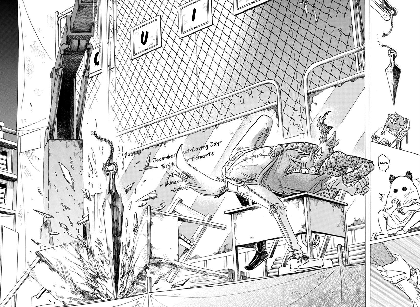 Beastars Manga, Chapter 168 image 016