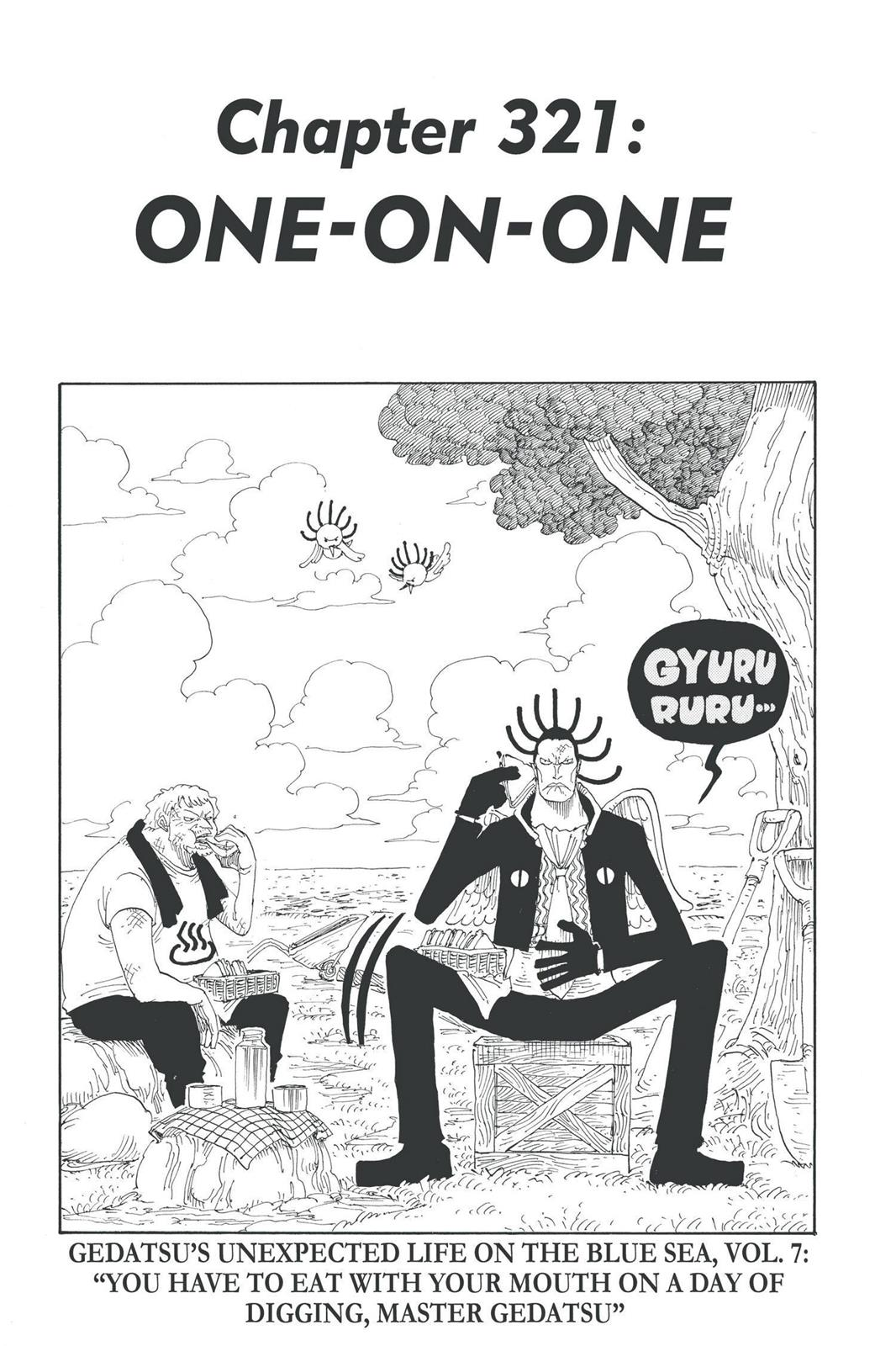 One Piece, Chapter 321 image 001