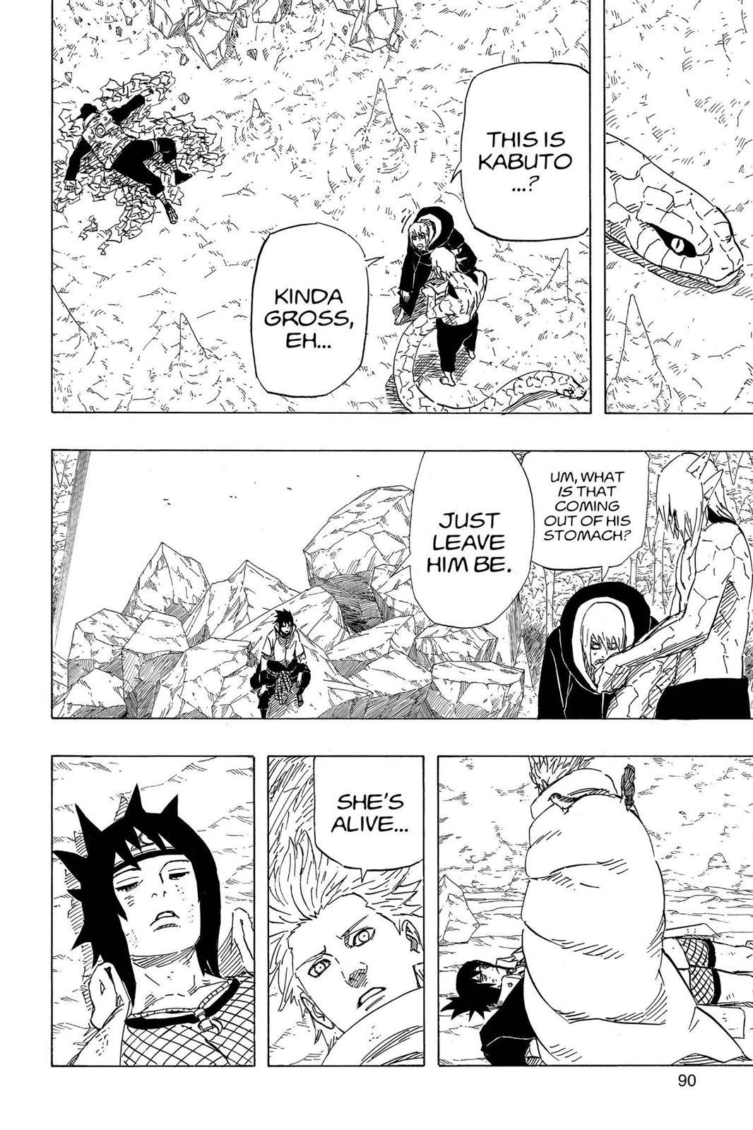 Naruto, Chapter 592 image 010